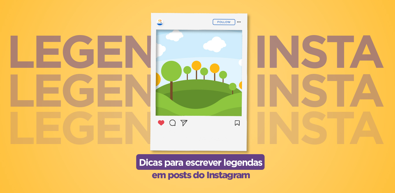 legendas no Instagram